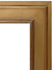 Gilded Frames Gold over Red Multifinish