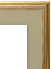 "Ready Made Frame 2 1/2"" Linen Liner"