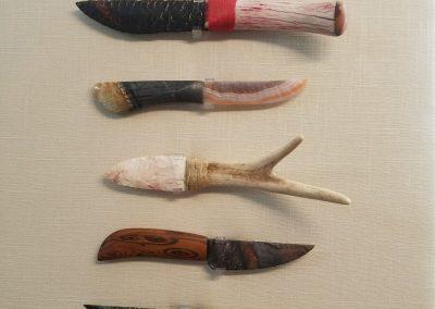 Knife-Holding Frame