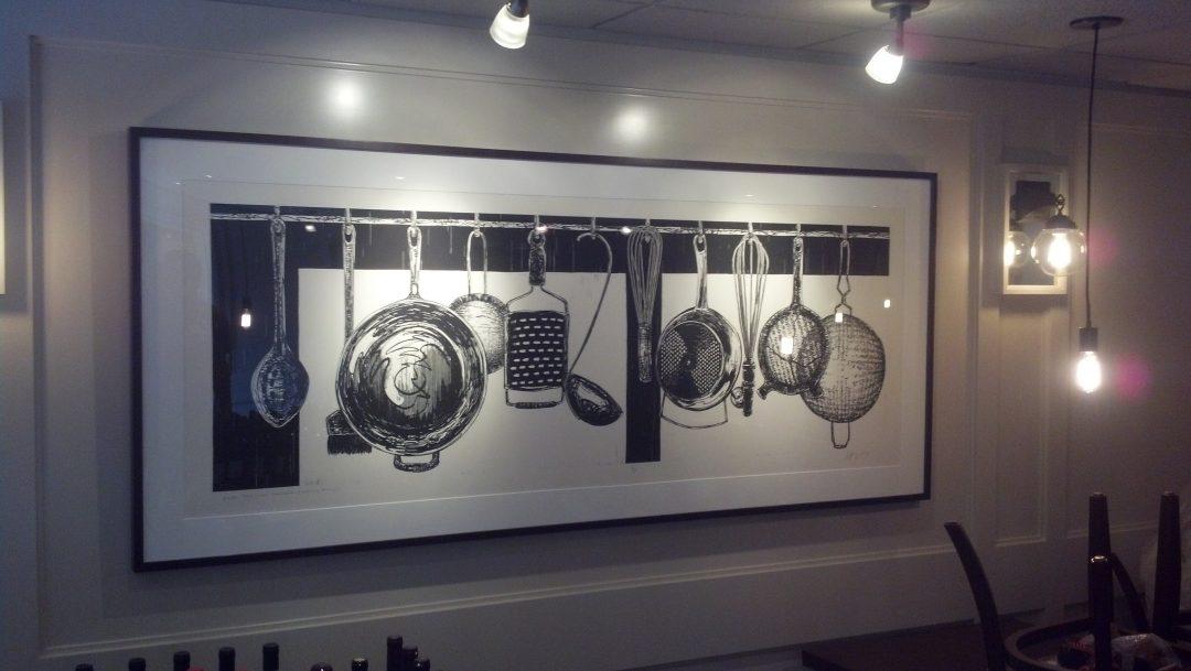 Long Kitchen Frame Abend Framing