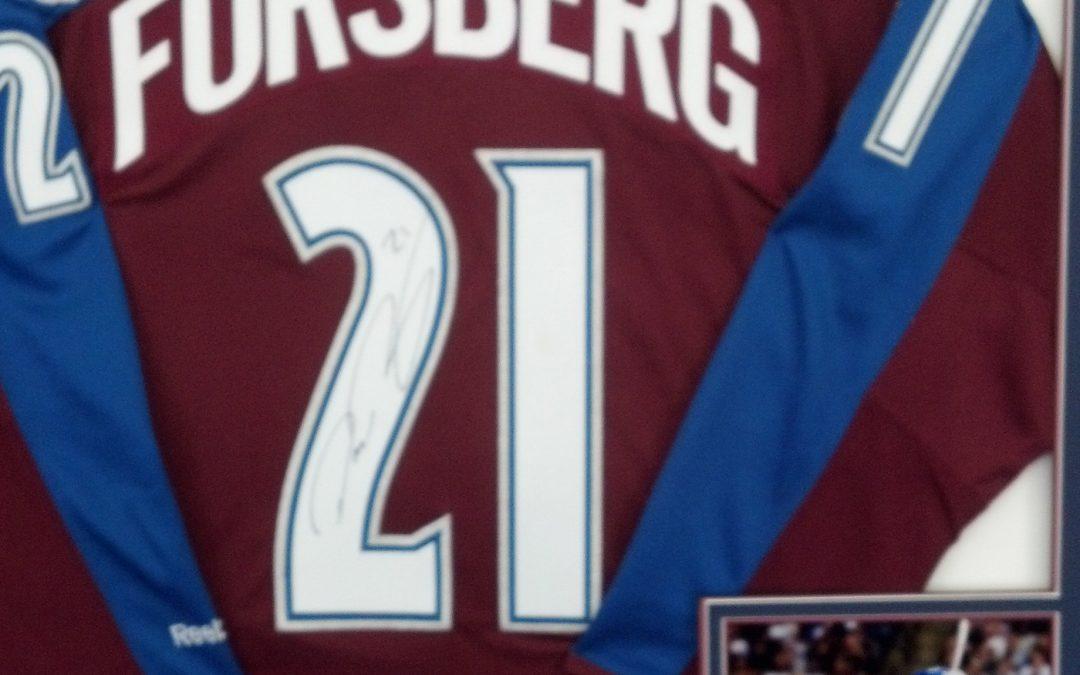 Forsberg Jersey